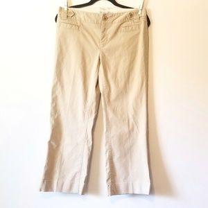 Banana Republic stretch khaki pants